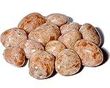 ALCHIMIA - Minerali Pietra del sole eliolite BIG qualità extra cm.2-3 levigata lucida + molla spirale metallo omaggio per poter creare un ciondolo da indossare cristalloterapia