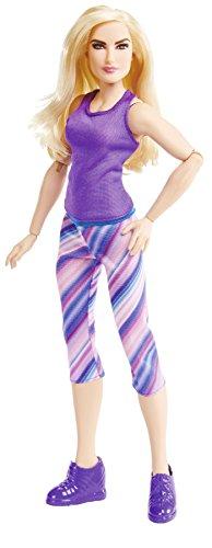 Mattel FTD85 WWE Girls Superstar Lana 30 cm Puppe, Mädchen Puppen Spielzeug ab 6 Jahren