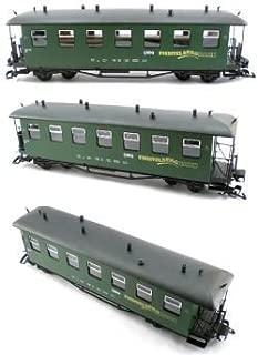 Fichtelbergbahn Saxon Style Passenger Train Car Solid Green G Scale