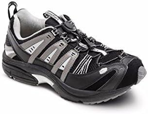 Dr Comfort Performance X Men s Therapeutic Diabetic Double Depth Shoe Black 13 0 Medium M 2E product image