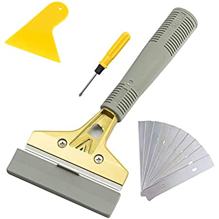 Glass Scraper for Induction Ceramic Halogen Hob Cooker Top Stove Cleaner Tool