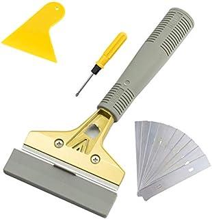 Sponsored Ad - LDS Industry Extendable Razor Blade Sticker/paint Scraper Remover for Window Glass Windshield Tile Granite ...