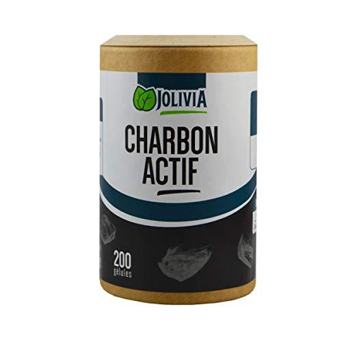 Charbon actif - 200 gélules végétales de 210 mg
