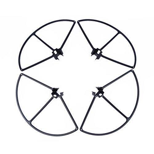 PIXNOR 4 Stück Quadcopter Propeller Schutzwache Beschützer für DJI Inspire 1 - Schwarz
