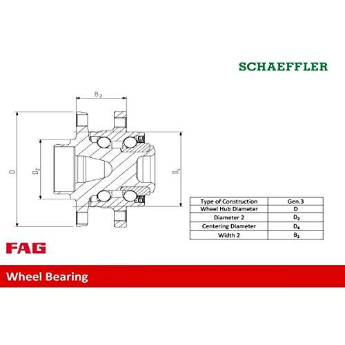 FAG 713670040-FAG Radlagersatz