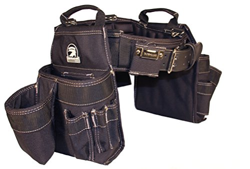 Gatorback Professional Carpenter's Tool Belt Combo w/Air-Channel Pro Comfort Back Support Belt....
