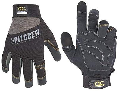 CLC Pit Crew Black Engine Crew Glove (Pair)
