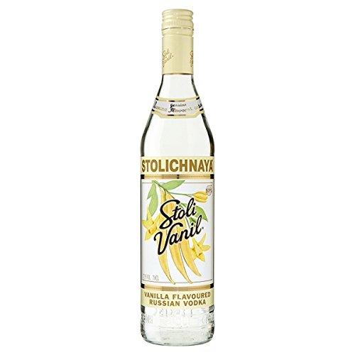 Stolichnaya Stoli Vanil Vanille aromatisiert Russian Vodka 70cl Pack (6 x 70cl)