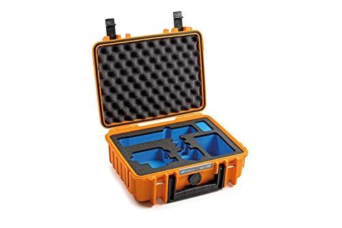 BundW Transportkoffer Outdoor für GoPro 9 & GoPro 10 Type 1000 orange - wasserdicht nach IP67 Zertifizierung, staubdicht, bruchsicher & unverwüstlich
