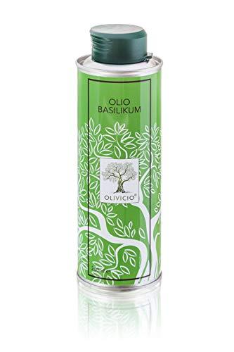 OLIVICIO Olio Basilikum 250ml - Olivenöl mit Basilikum