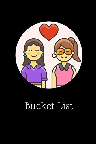 Bucket List: Lesbian Couple Bucket List ~ Themed Notebook