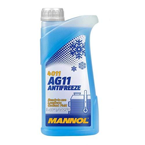 MANNOL 15718300500MN Antifreeze AG11-40, antigelo per radiatore, 1 l, MN4011-1