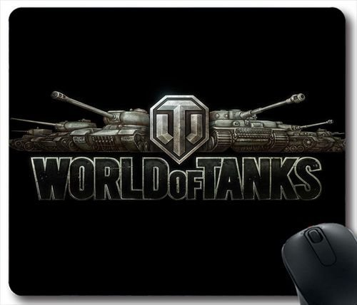 World Of Tanks Logo F64T6N Mouse Pad/Mauspad