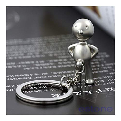 TangMengYun Llaveros Mr.P Boy Llavero del Anillo Regalo Divertido Key Fob Llavero (Color : 2)