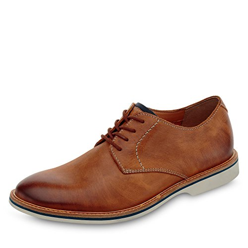 Clarks Herren Atticus Lace Derbys, Braun (Tan Leather), 46 EU