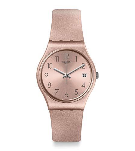 Swatch Reloj Analógico para Mujer de Cuarzo con Correa en Silicona GP403