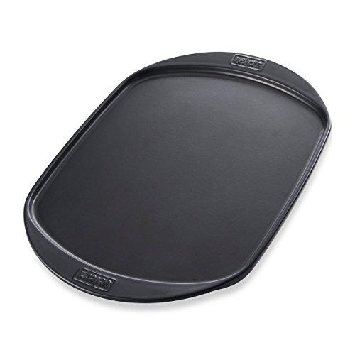 Weber Grillplatte groß, schwarz, 49x35x2cm, 17509