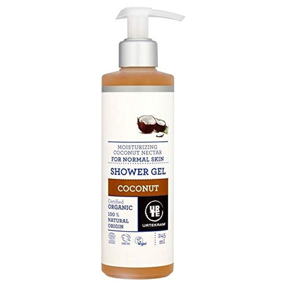 インフレーションリー宿題をする[Urtekram] Urtekramココナッツポンプシャワージェル245ミリリットル - Urtekram Coconut Pump Shower Gel 245ml [並行輸入品]