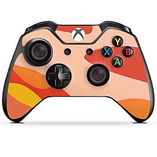 DeinDesign Skin kompatibel mit Microsoft Xbox One Controller Aufkleber Folie Sticker Camouflage Bundeswehr Orange