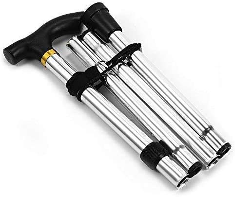 Flexibler Gehstock, höhenverstellbar, zusammenklappbar, ausziehbar, für Unisex