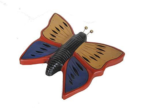 Discount Etnico - Farfalla Terracotta da Appendere Misura 37 x 29 cm