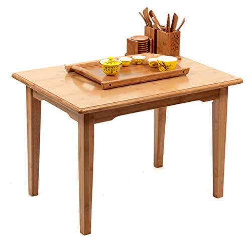 YNLRY Teetisch Einfache Bambus Tisch Trinken Tee Tisch Öko-Bett Faul Tisch/Mode Klapp Teetisch Laptop Kleiner Tisch Faltbar Und Tragbare Durable (Color : 60X40X45CM)