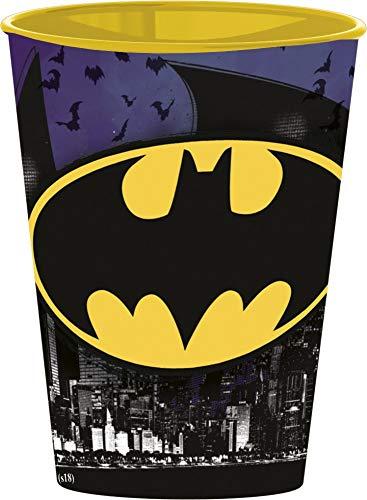 4 Stück DC Batman Comic Trinkbecher Saftbecher Becher Set