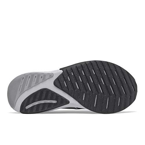 New Balance Women's Propel V2 FuelCell Running Shoe, Black/White, 8 UK