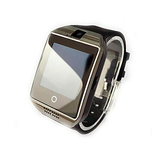 Smart Watch SIM Card Può Amazon Hot Explosion Modelli Bluetooth IOS Android AliExpress Smartwatch (Argento)