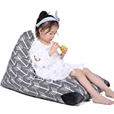 Stuffed Animal Storage Bean Bag Chair for Kids and Adults....