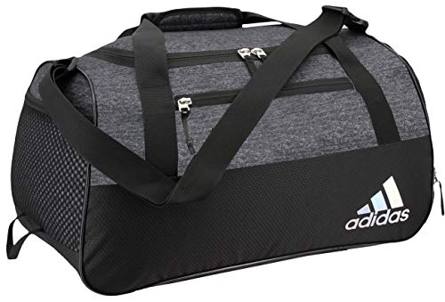 adidas Women's Squad Duffel Bag, Black Jersey/Black, ONE SIZE