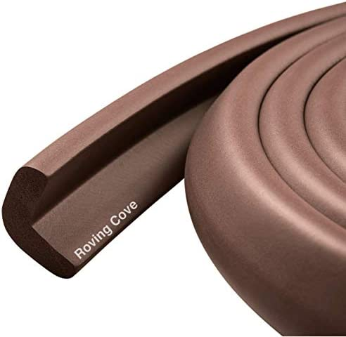 Roving Cove Baby Proofing Edge Guards 6 Feet Edge Protectors for Table Desk Fireplace Coffee product image