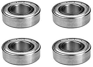 The ROP Shop (4) Bearings for Grasshopper 110080 110081 110082 414686 833210 Bearing 6205-RS1
