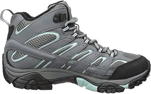 Merrell Damskie buty trekkingowe Moab 2 Mid Gtx, szary - 40.5 EU