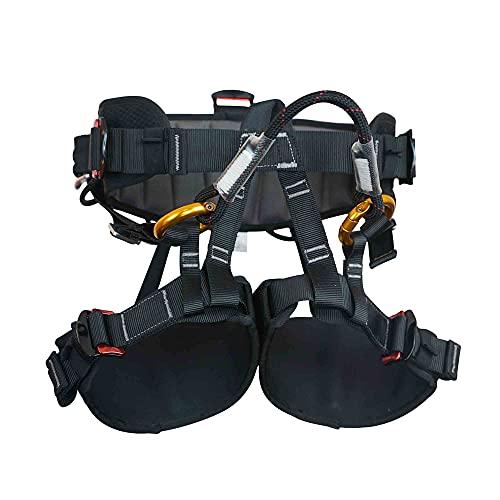 SOB Klettergurt Befestigender klettergurte Sicherheitsgurt Mehrzweck für Feuerrettung Bergsteigen Hochniveau Rescue Höhlenforschung Equip CE-Zertifiziert