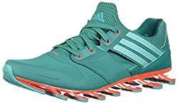 adidas Men's Springblade Solyce Running Shoes, Red / Orange / Black (Rojsol / Plteme / Negbas), 43 1 / 3 EU