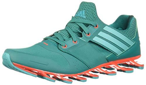 adidas Herren Springblade Solyce Laufschuhe, Grün (EQT Green/Shock Green/Solar Red), 41 1/3 EU