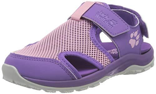 Jack Wolfskin Outdoor Water Action K Sport Sandalen, Violett (Purple/Rose 2842), 29 EU