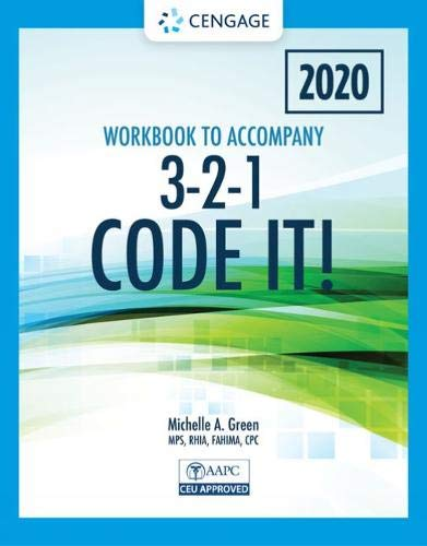 Compare Textbook Prices for Student Workbook for Green's 3-2-1 Code It! 2020 Edition 8 Edition ISBN 9780357362662 by Green, Michelle