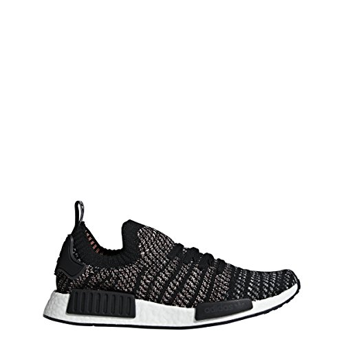 adidas Originals NMD_R1 STLT Primeknit Shoe Men's Casual 9 Black-Grey