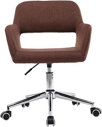 WANGXIAOYUE Muebles ERGONÓMICA DE Oficina DE Oficina DE Oficina DE Oficina SOFIAN Sofa SOFIENDAJE Silla de Rodillas (Color : Brown)