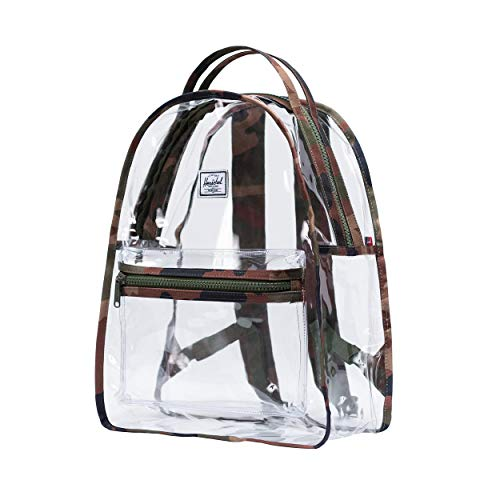 Herschel Backpack Nova Mid-Volume Clear Plastic 18 Liter 4,5 x 30,5 x 14 cm (H/B/T) Women (10503-Clear)