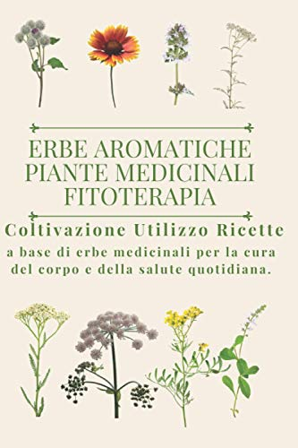 Erbe aromatiche, Piante medicinali, Fitoterapia.: Coltivazione, Utilizzo, Ricette a base di erbe medicinali per la cura del corpo e della salute quotidiana.