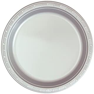Hanna K. Signature Collection 50 Count Plastic Plate, 10-Inch, Silver (B0053KIUOK) | Amazon price tracker / tracking, Amazon price history charts, Amazon price watches, Amazon price drop alerts
