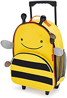 Skip Hop Zoo Kid Rolling Luggage, Bee