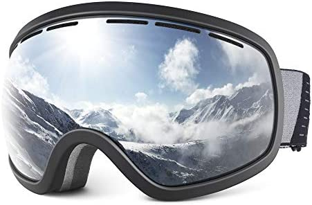 Snowledge Ski Goggles for Men Women with UV Protection Anti Fog Dual Lens product image
