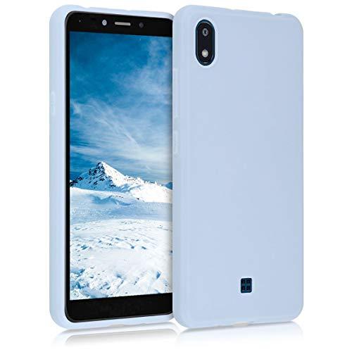 kwmobile Hülle kompatibel mit LG K20 (2019) - Handyhülle - Handy Hülle in Hellblau matt