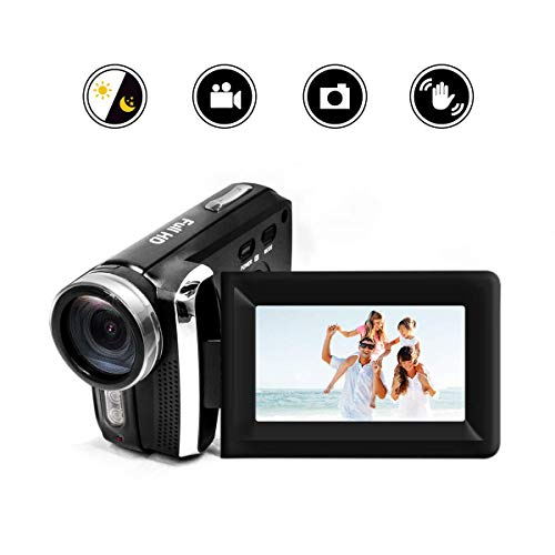 "Mini DV Handycam Camcorder, Heegomn 12MP 1080P DV Camcorder Camera: Starter Camcorder Video Camera for Beginners with 2.7"" LCD 270 Degree Flip Screen and 8X Digital Zoom for Children Birthday Christma"