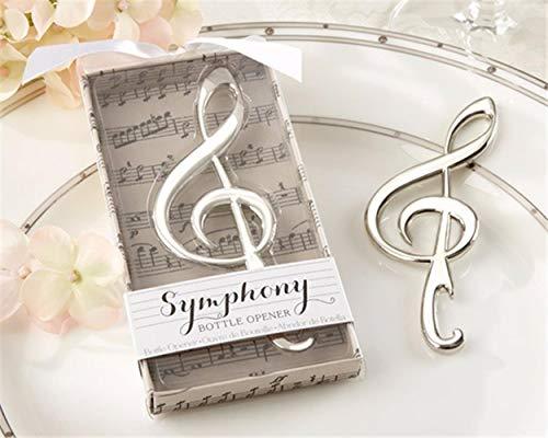 HONONUGH 1 pz bomboniere uniche Nota Musicale apribottiglie Matrimonio