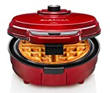 Chefman Anti-Overflow Belgian Waffle Maker w/Shade Selector, Temperature Control Mess Free...